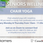Seniors Wellness - Chair Yoga