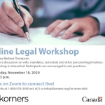 4Korners - Individual, Family, and Youth_Des Laurentides3 - Online Legal Workshop