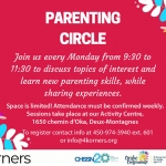 4Korners activities - Parenting Circle