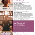 4Korners activities - Women's Wellness Workshop